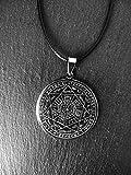 El Colgante Protección 7 Arcángeles, Sello de Salomón, Amuleto realizado en Acero quirúrgico, Collar de protección, Geometría sagrada, Protección, Sello de Siete Arcángeles. Regalo Hombre