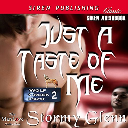 Just a Taste of Me audiobook cover art