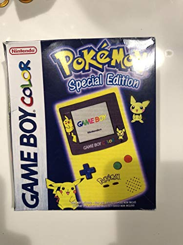 Game Boy Color Konsole, Pikachugelb