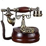 白樺製電話機 ミズメ製 高級感あふれるアンティーク電話機 インテリアにも最適! 回転ダイヤル式電話機 Wood Telephone amnyj204-fgdh006