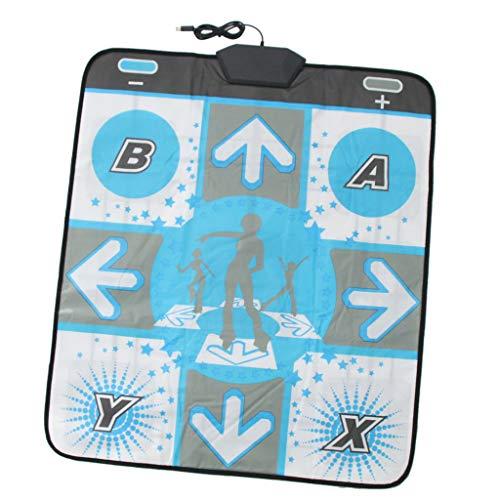 F Fityle Single Person Dance Mat Pad rutschfeste Tanzmatte für Nintendo Wii Spiel Konsole Tanzen Spiel Accessoires