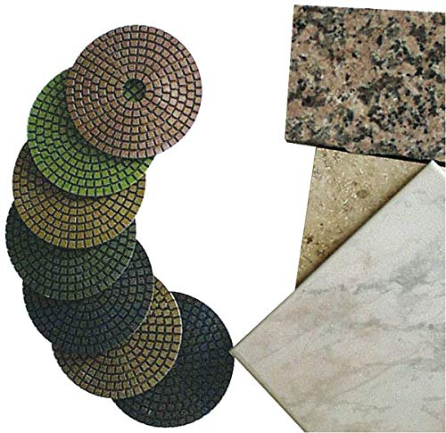 Polierscheibe zum Nachpolieren von dunklen Steinen, 125 mm, 1 Stück