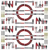 gazechimp 4ペア テストリード キット 電子テストリード テスターケーブル 電気測定 使いやすい
