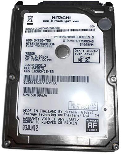 MicroStorage Hitachi 750GB 5400RPM 2.5