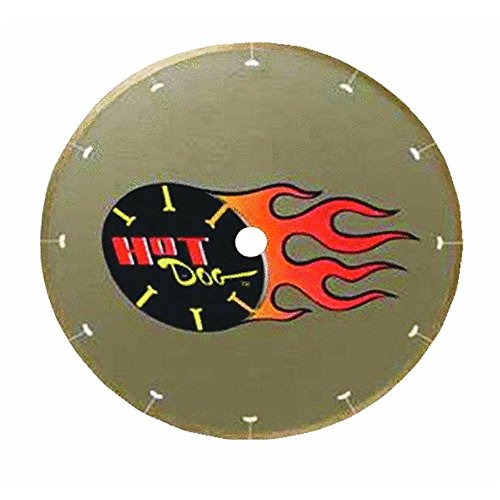 MK Diamond 158434 7' MK-225 Hot Dog Premium Thin-Rim Blade