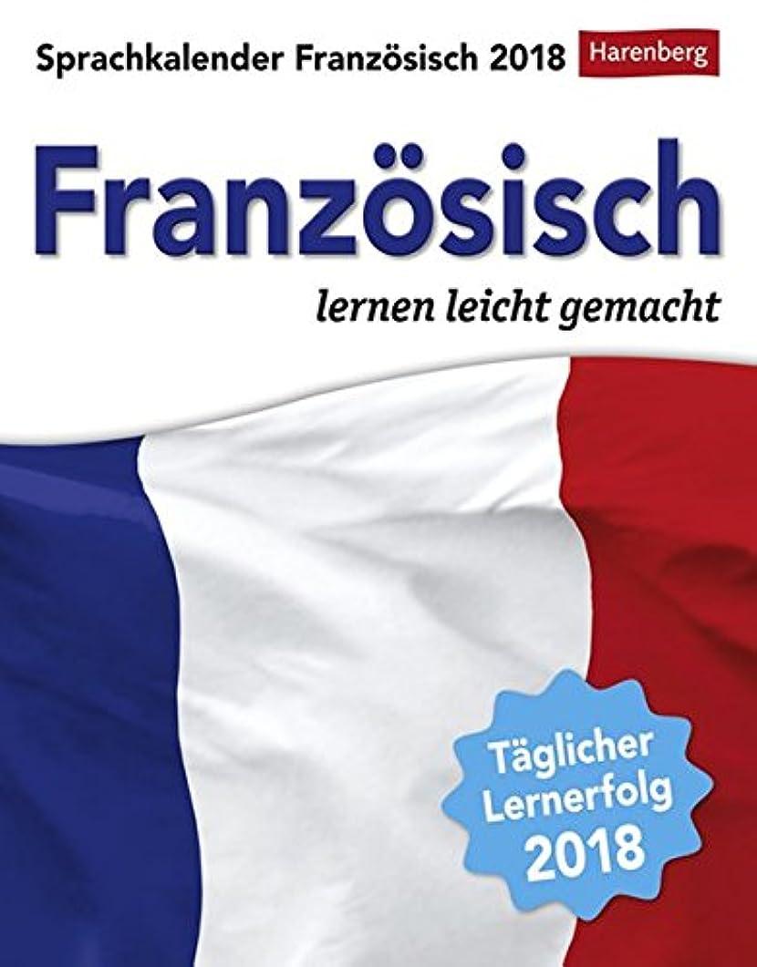 受けるブレスカイウスSprachkalender Franzoesisch 2018: Sprachen lernen leicht gemacht