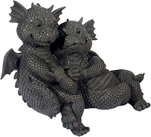 MystiCalls by Mayer Chess Gartendrachen Liebespaar als Kantenhocker! Liebe! Love! Drachen! Garten!