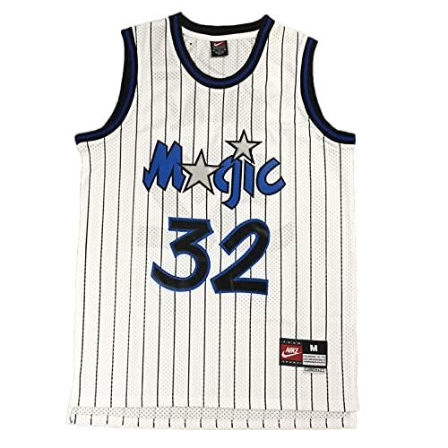 KKSY NBA-Trikots für Herren Shaquille O'Neal #32 Orlando Magic 1994-95 NBA-Basketball-Trikots,A,XL