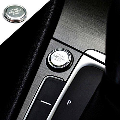 Pinalloy Motor Start Button Abzeichen für MK7 6 GOLF7 6 GTI Jetta SCIROCCO POLO CC