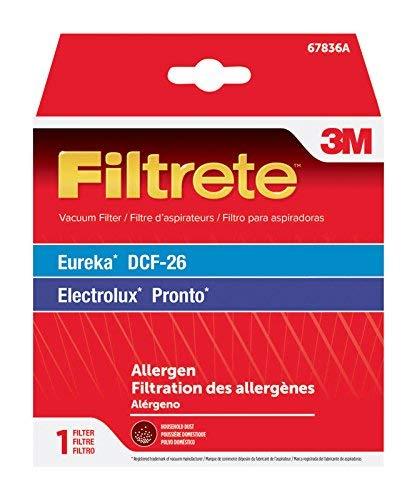 3M Eureka DCF-26 Allergen Vacuum Filter, 1, Black