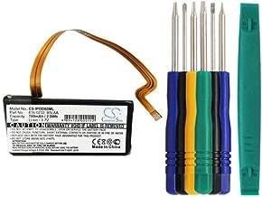 Cameron sino 700mAh Li-ion Replacement 616-0232 B5LAA B6DAH 696-0106 Battery For iPOD Video 60G 80G, iPOD Classic 120GB 160GB MA003LL/A MA147LL/A With Tools Kit