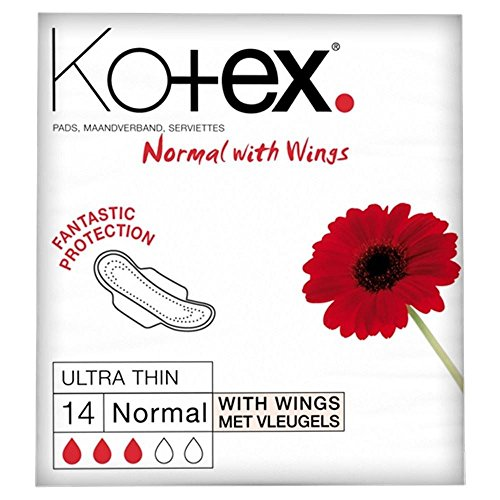 Kotex Ultra Thin normale vleugels (14), 6 stuks