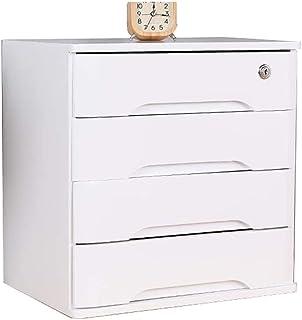 Classeurs Armoires de fichiers, multi-couche en bois de bureau Boîtes de rangement, tiroirs Armoires avec tiroirs, utilisé...