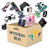 yamysalad Caja misteriosa Lu -CAMBIO Caja MYS Cajas de -tery MYS Se puede abrir la caja, (equipos electrónicos): los últimos teléfonos móviles, drone, relojes inteligentes, purificadores de aire, etc.