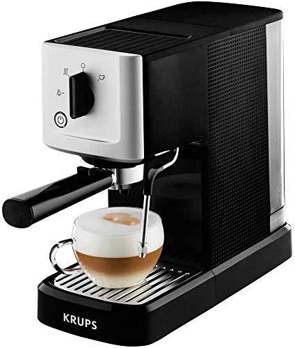 Krups XP 3440 Calvi Espresso-Automat Espressomaschine, schwarz/Silber