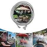 Sistema de niebla, sistema de riego, sistema de riego para patios, sistema de riego, ideal para sistema de riego para sombrilla, gastronomía, invernadero, jardín, piscina (6 m)
