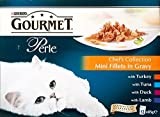 Purina Gourmet Perle Chef's Collection Mini Fillets in Gravy - Pouch (12x85g) - Pack of 2