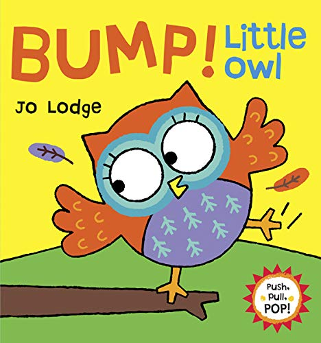 Bump! Little Owl (Push, Pull, POP! Books)