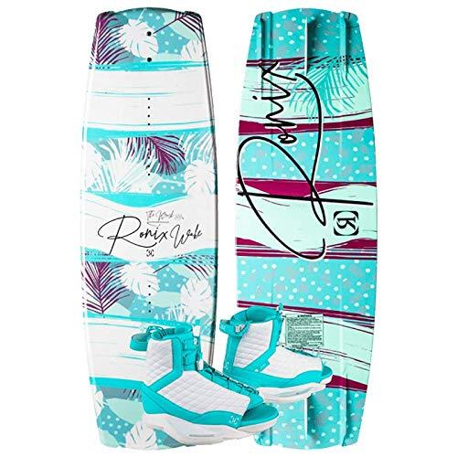 Ronix 128 Krush Wakeboard Women's Package w/Luxe 8-10.5...