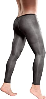 Men Pantyhose Footless Tights Large Sheath Closed