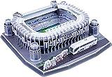 CALISTOUK Rompecabezas Tridimensional 3D mundialmente Campo de fútbol Rompecabezas para niños Chicos DIY Hechizo Insertar Juguete