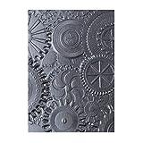 Sizzix 3-D Texture Fades Embossing Folder, Gray...