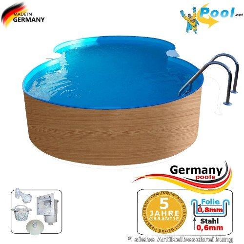 Germany-Pools -  Achtformbecken