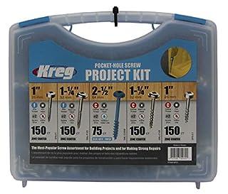 Kreg SK03 Pocket-Hole Screw Kit in 5 Sizes (B001DC9USC) | Amazon price tracker / tracking, Amazon price history charts, Amazon price watches, Amazon price drop alerts