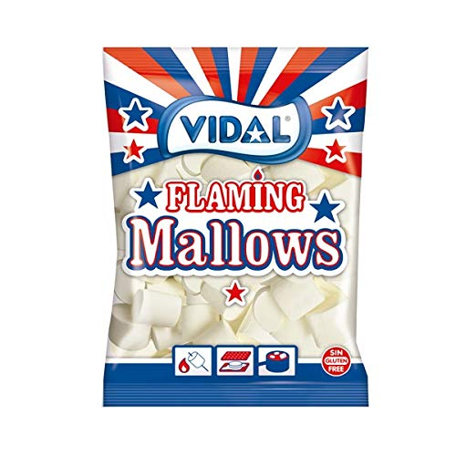Vidal Golosinas Flaming Mallows. Nubes my sabrosas listas pa
