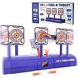 Magicfun Electronic Shooting Target, Kids Shooting Target Practice for Boys Girls Scoring Auto Reset Digital Targets