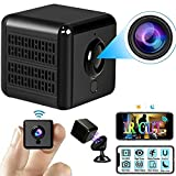1080P HD Hidden Mini Camera WiFi Home Security Camera, A28 Pro Portable IP Surveillance Camera IP65 Waterproof Outdoor Indoor 'IR Cut' Night Vision Spy Camera with Smartphone app