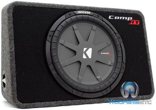 Kicker CompVT TCRT12 - 30cm Flat Gehäuse-Subwoofer, Impedanz:1x4 Ohm