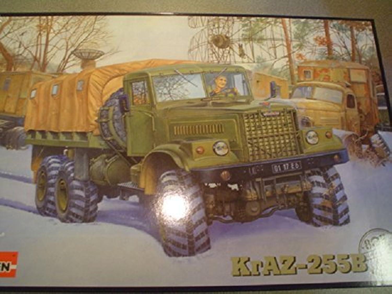1 35 DRAZ-255B Heavy Truck by RODEN PLASTIC MODELS