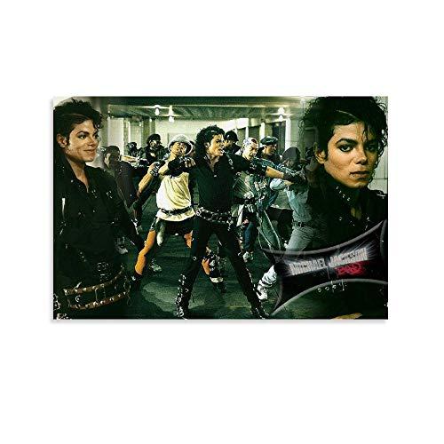 ASDFWQW Póster de Bad Michael Jackson Dancers, pintura decorativa, lienzo para pared, sala de estar, póster, dormitorio, 40 x 60 cm