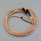 Gotor® ER4P ER4B ER4S ER4T ヘッドホン ヘッドセット 対応 交換用 オーディオ アップグレード ケーブル 5N無酸素銅