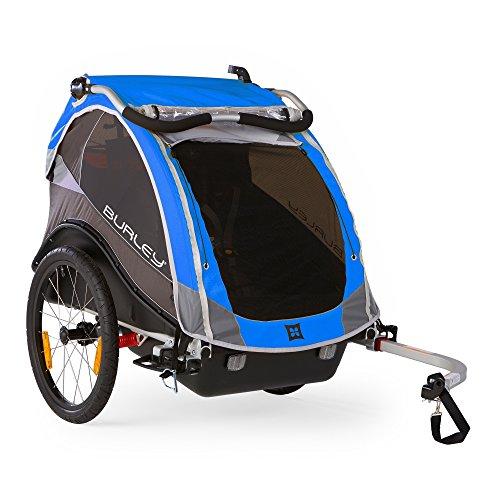 Kinderanhänger Burley CUB 2016 RennMaxe Set blau
