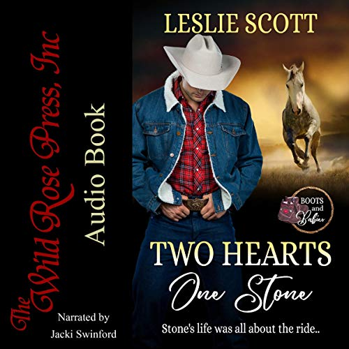 Two Hearts, One Stone audiobook cover art