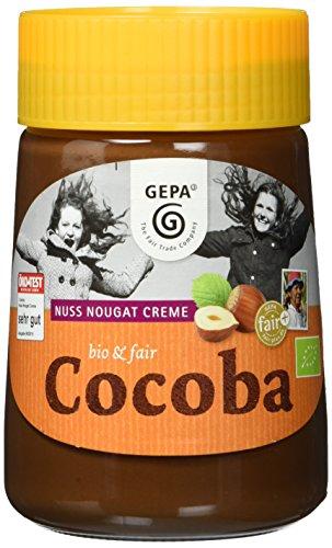 Gepa Bio Cocoba Nuss Nougat Creme, 3er Pack (3 x 350 g)