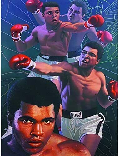 Muhammad Ali Boxing 3D Poster Wall Art Decor Print 11 8 x 15 7 Lenticular Posters Pictures Photo product image