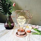 Led Lichterketten, Polygonal Metall Lampenschirm String Lampe Weihnachtsbaum Dekoration Licht, Dekor Beleuchtung Für Schlafzimmer Wohnzimmer Weihnachten Hochzeit Garten Party