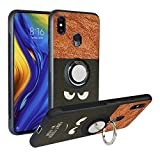 Funda para Xiaomi Mi MAX 3, Fashion Design [Antigolpes] con 360 Anillo iman Soporte, Resistente a los arañazos TPU Funda Protectora Case Cover para Mi MAX 3,Do Not Touch