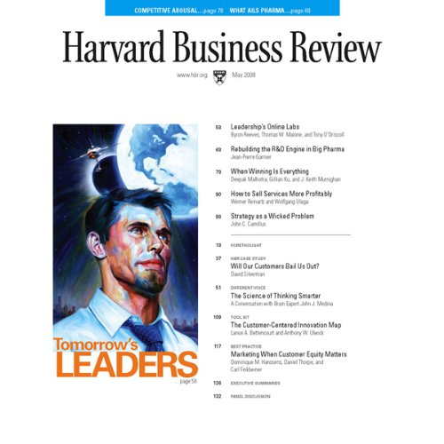 Harvard Business Review, May 2008 audiobook cover art