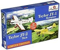 Aモデル 1/72 テイラー JT-1単葉機 & テイラーティッチ JT-2 アクロバット機 セット2 プラモデル AM72359