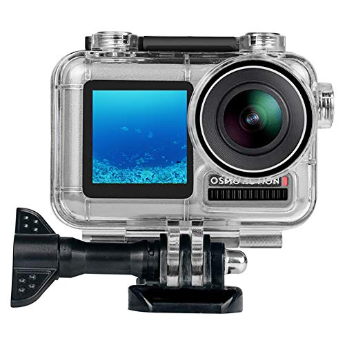 Waterproof Housing Case Gonine for DJI OSMO Action Camera, Underwater Photography Diving Protective Shell Case with Bracket Accessories.