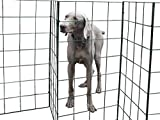 Flexipanel The Portable, Flexible, Foldable Dog Fence | Indoors or Outdoors | Gate | Barrier (9ft Fence)
