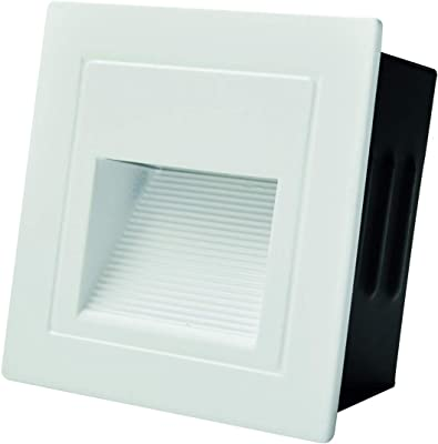 LUM LED ARANDELA EMB BRANC3W2700K127/220V ALU