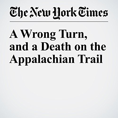 A Wrong Turn, and a Death on the Appalachian Trail cover art