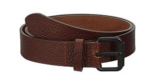 حزام جلدي رجالي من Fred Perry مطبوع عليه M.I.E