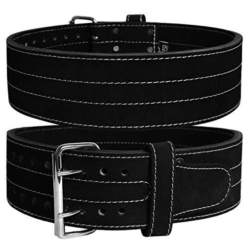 Jayefo Power Lifting Belt (Medium, Double Prong)