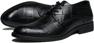 [ムリョ]ビジネスシューズ メンズ 紳士靴 メンズシューズ 革靴 通勤通学 冠婚葬祭 フォーマル プレーントゥ レースアップ ビジネスシューズ メンズ 靴 紳士靴 革靴 卒業式 出張 疲れない ローカット ブラック